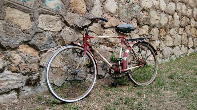 Antigua Bici Varillas