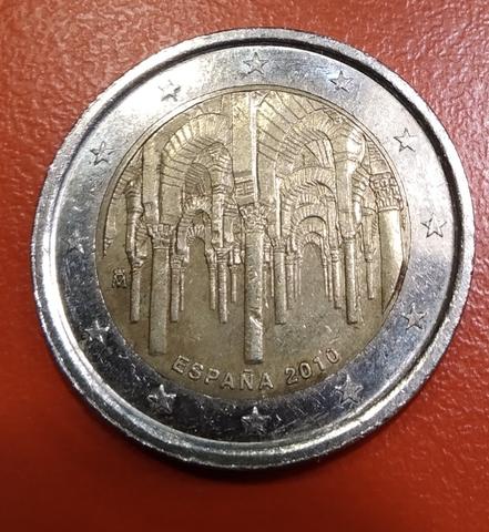 Moneda Conmemorativa 2 Euros España 2010