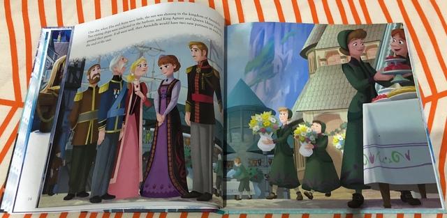 LIBRO CON 6 CUENTOS DE FROZEN ELSA ANNA - foto 2