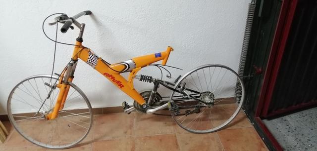Bicicleta Montaña Doble Suspensión 26 P.