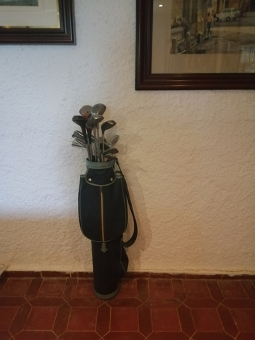 Bolsa De Golf Con 18 Palos