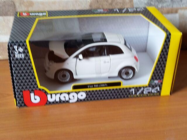 Burago-Fiat 500-(2007)