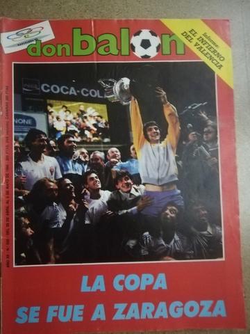 Don Balon Copa Zaragoza 1985