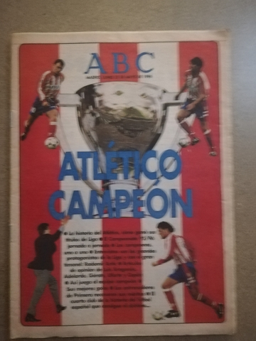 Atletico Campeon 95/96.Abc