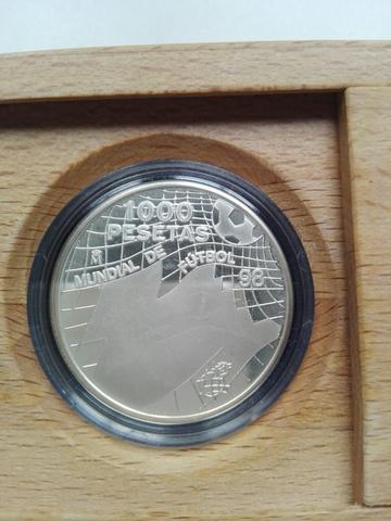 Moneda De Plata De 1000 Pesetas