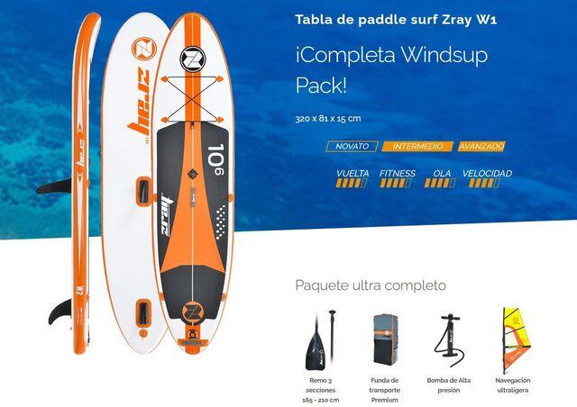 LIQUIDACIÓN TABLAS PADDLE SURF ZRAY 2020 - foto 5