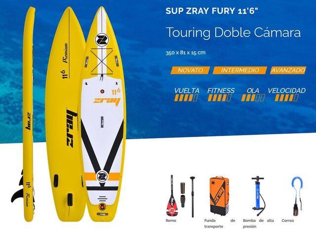 LIQUIDACIÓN TABLAS PADDLE SURF ZRAY 2020 - foto 8