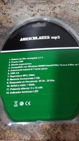 MP3 DHG CON AURICULARES - foto 2
