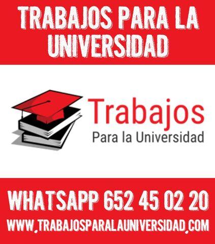 TRABAJOS UNIVERSITARIOS POR ENCARGO,  TFG - foto 1