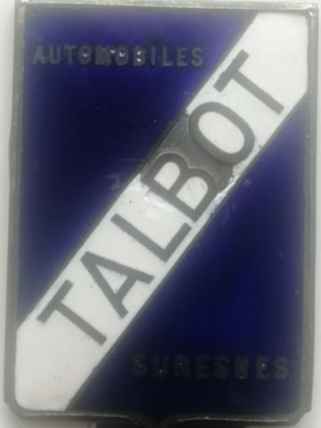 EMBLEMA DE TALBOT ESMALTADO DE 1920 - foto 4