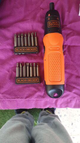 Destornillador Eléctrico Black And Decke