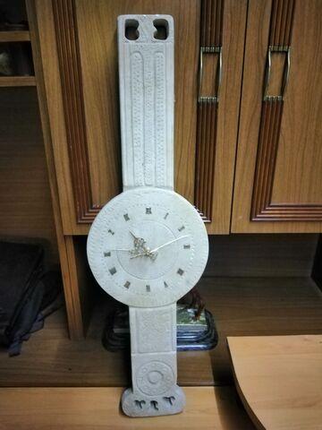 Reloj De Pared Piedra De Villamayor