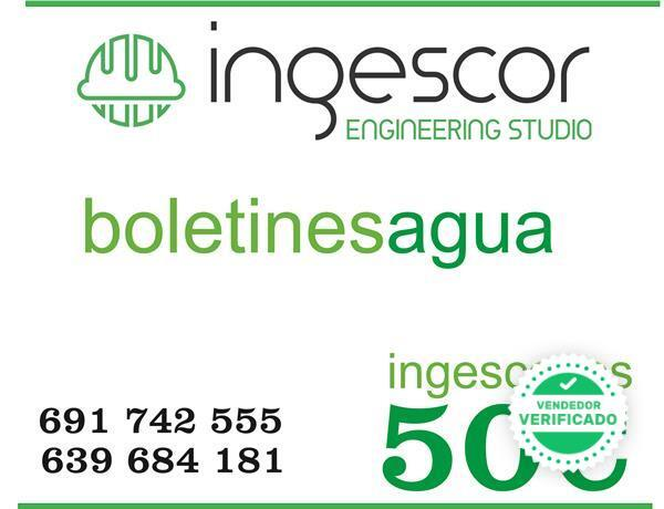 BOLETIN DE AGUA 50E ANDALUCIA - foto 1