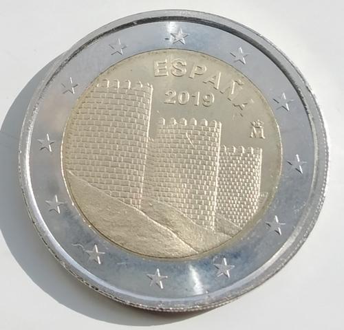 Moneda Conmemorativa 2 Euros España 2019