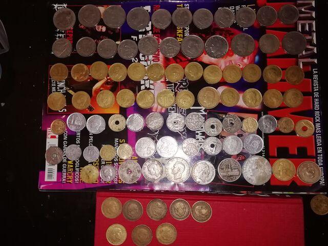 Monedas 57 51 47 75 82 66