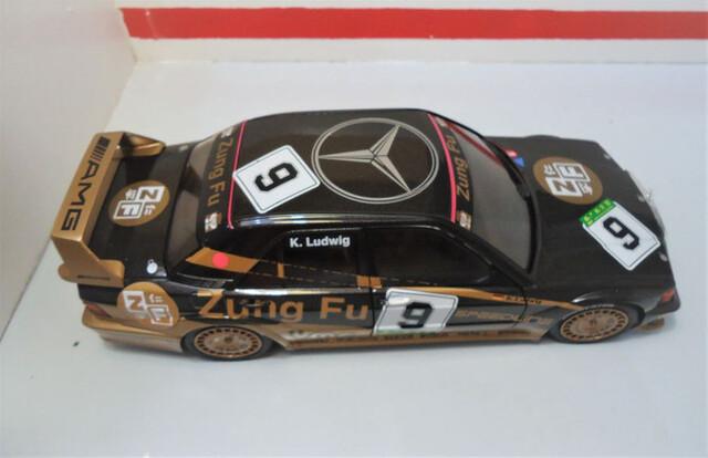 Mercedes Benz Sprinter policía maqueta de coche metal modelo auto de juguete 92