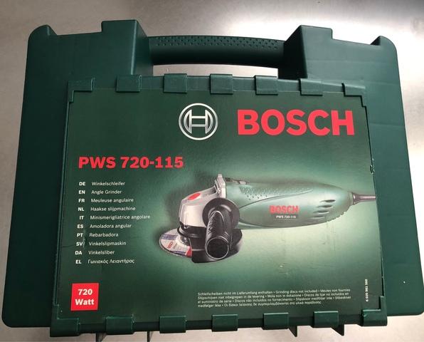 Radial Bosch Pws 720-115