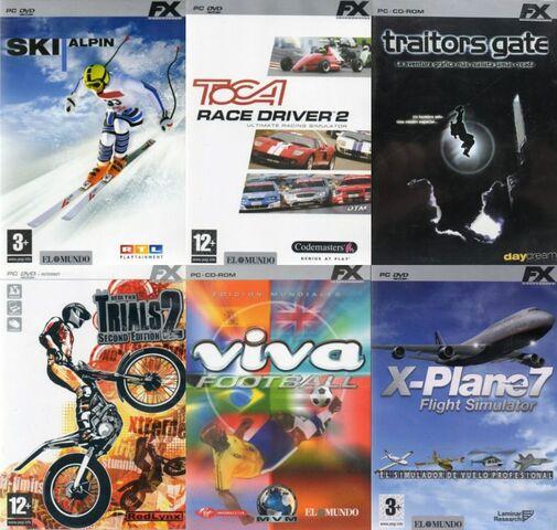JUEGOS PC FX - foto 2