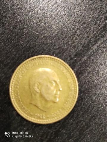 Peseta Franco 1966 *19 *74
