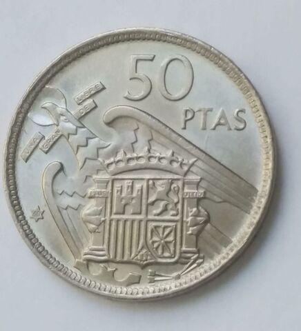 Moneda 50 Pesetas 1957 *68 Rara