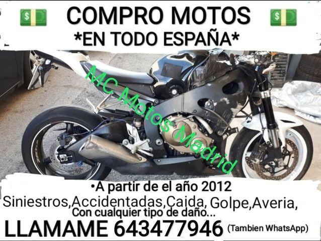COMPRO MOTOS EN TODO BARCELONA, LLAMANOS - foto 1