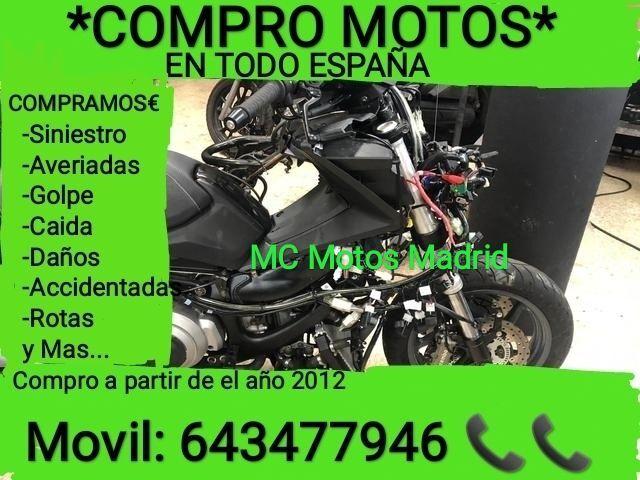 COMPRO MOTOS EN TODO BARCELONA, LLAMANOS - foto 2