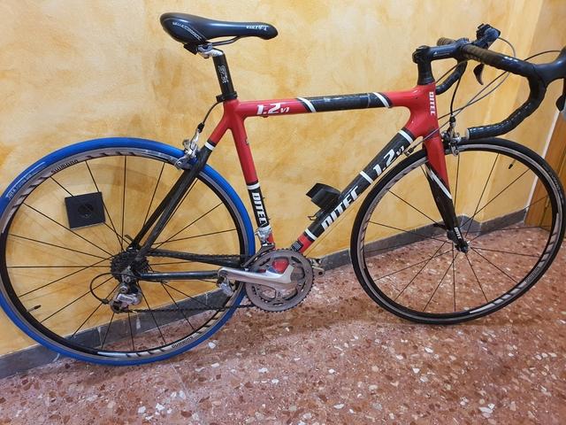 Bici Ditec 1200 Cuadro De Carbono