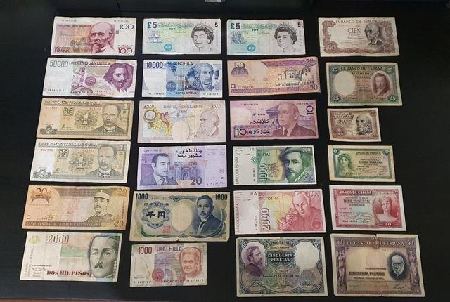 Lote Billetes Y Monedas