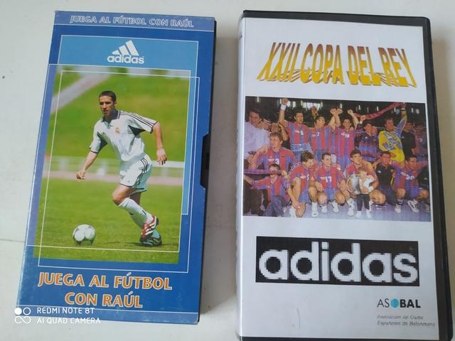 VHS DE PARTIDOS FUTBOL - foto 1