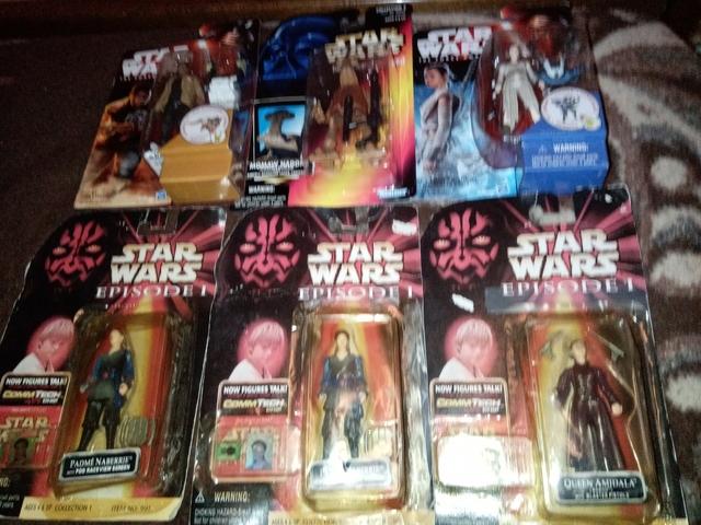 6 Blister Figuras Star Wars