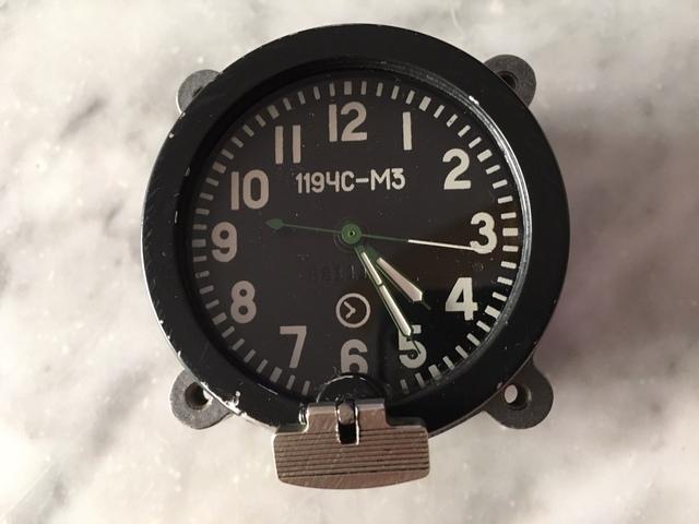 Reloj De Tanque Sovietico Años 70