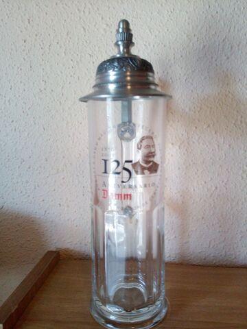 Jarra Cerveza Con Tapa 125 Aniversario