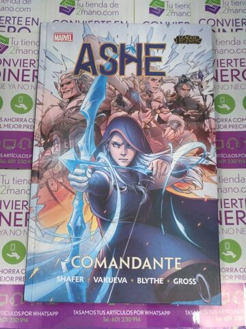 Comic Ashe Comandante Marvel