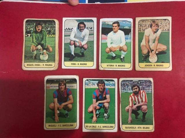 1978-79 Liga Este Lote 12 Cromos