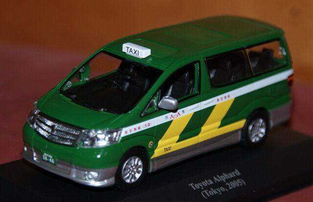 Toyota Alphard Taxi Tokyo 2005 Escala 1: