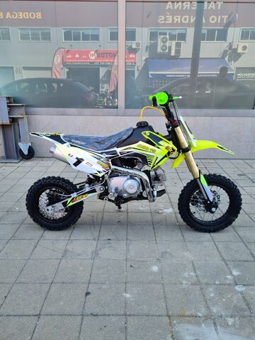 PIT BIKE MALCOR 110CC SEMI AUTO JUNIOR - foto 3
