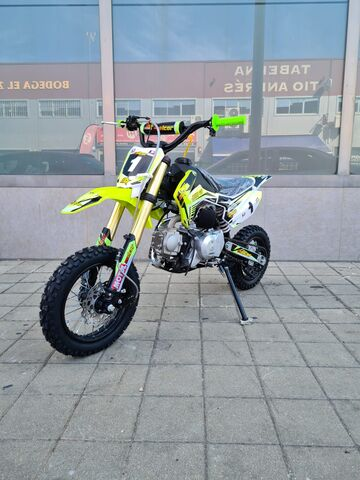PIT BIKE MALCOR 110CC SEMI AUTO JUNIOR - foto 5