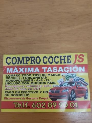 COMPRO TU COCHE AL CONTADO - foto 1