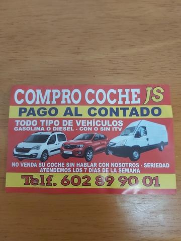 COMPRO TU COCHE AL CONTADO - foto 2