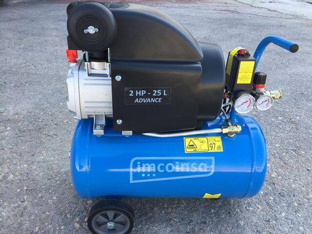 Compresor De Aire Imcoinsa Advance 25L