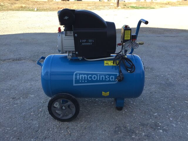 Compresor De Aire Imcoinsa Advance 50L