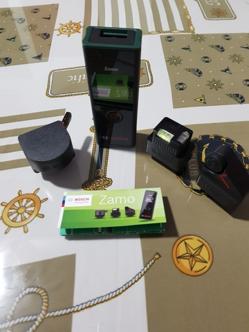 Medidor Laser Bosch Zamo 3