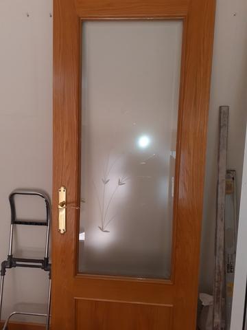 Puertas Con Cristal Roble