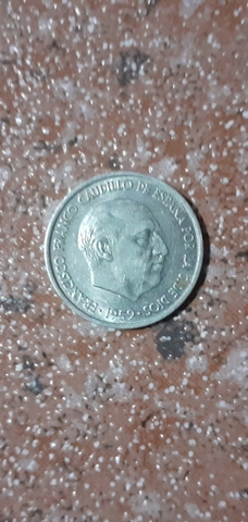 Se Vende Moneda De 10 Céntimos Del 1959