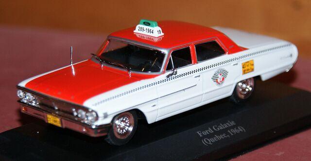 Ford Galaxie Taxi Quebec 1964 Escala 1:4