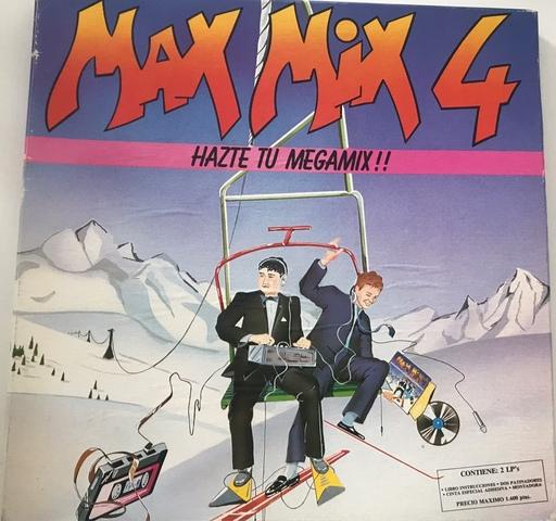 CAJA BOX COMPLETA MAX MIX 4 CON DOS LP - foto 1