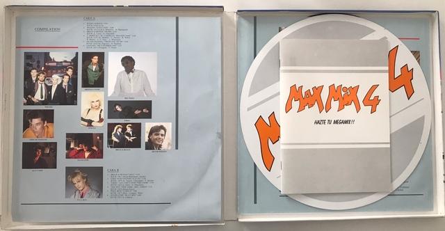 CAJA BOX COMPLETA MAX MIX 4 CON DOS LP - foto 4