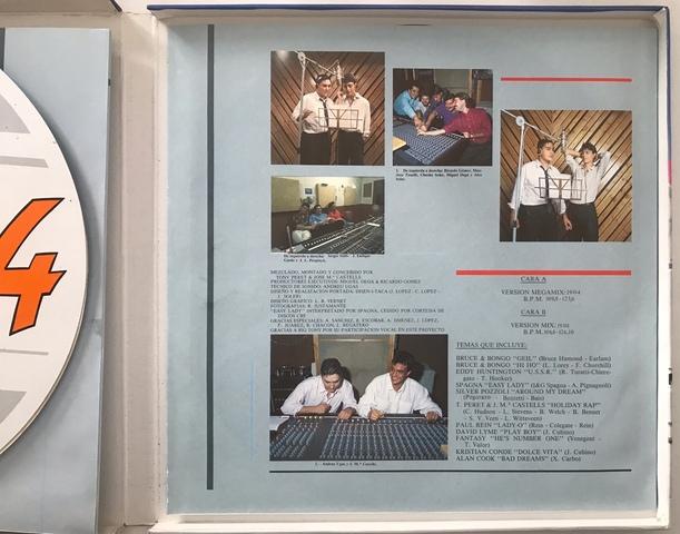 CAJA BOX COMPLETA MAX MIX 4 CON DOS LP - foto 5