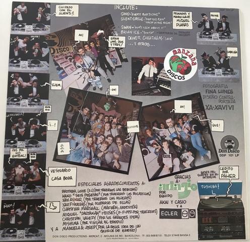 DISCO VINILO LP DON DISCOMIX DE 1986 - foto 2