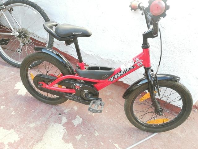 Bicicleta Llantas 16 Trek